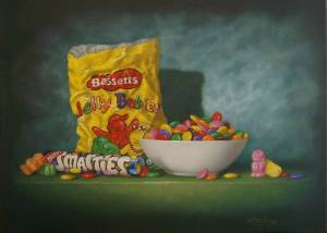 smarties and jelly babies