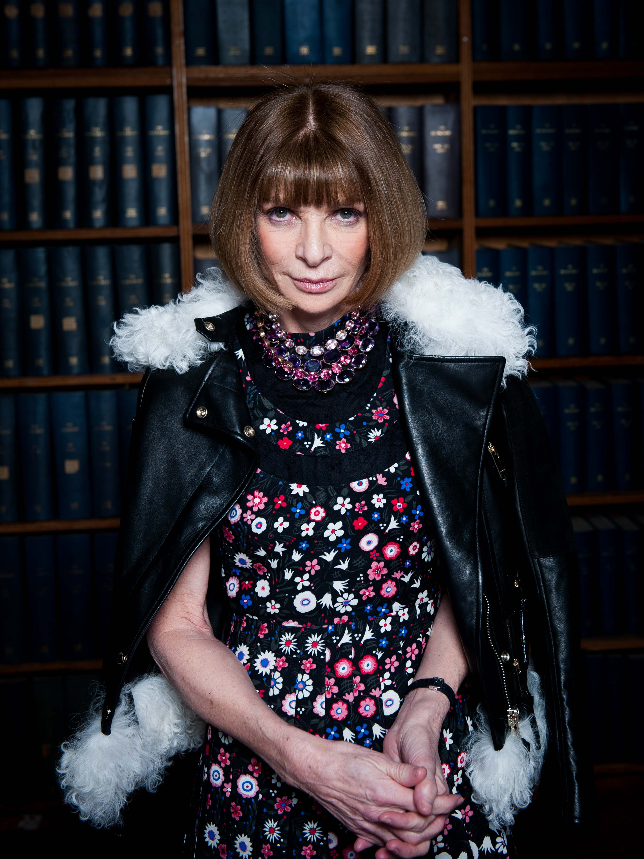 Creative Home Office Anna Wintour S Talk At The Oxford Union Old Tat Magazine